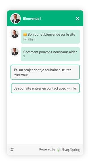 Chatbot F-links